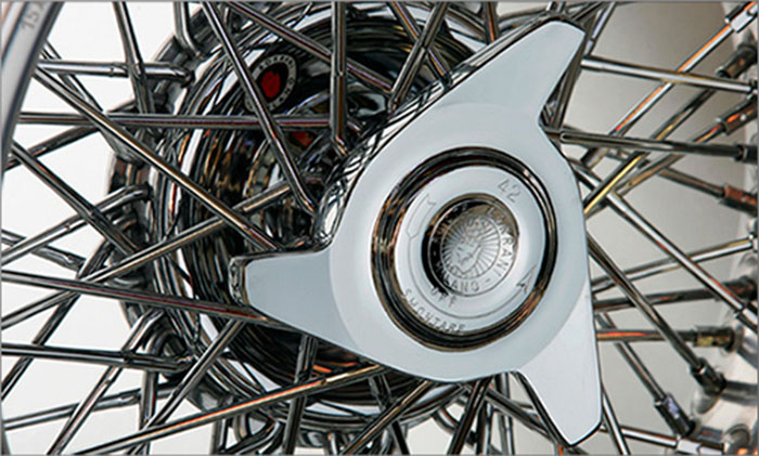 Classic Car With Borrani Wheels - Classic car wheels